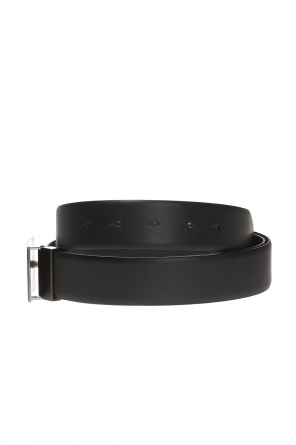 Double-sided belt with variable buckles od Giorgio Armani